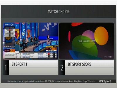 Fréquence BT Sport Extra 6 sur le satellite Astra 2F (28.2°E)