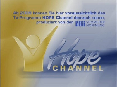 Fréquence Hope Channel Africa sur le satellite Intelsat 20 (IS-20) (68.5°E)