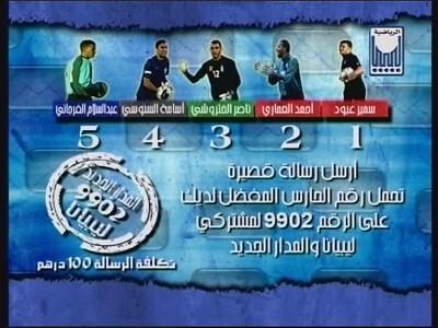 Fréquence Libya TJ tv تردد قناة