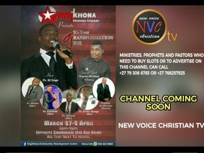 Fréquence New Voice Christian TV sur le satellite Autres Satellites