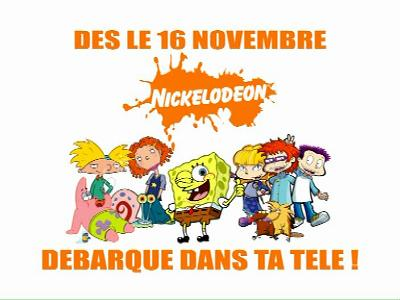 Fréquence Nickelodeon France tv تردد قناة