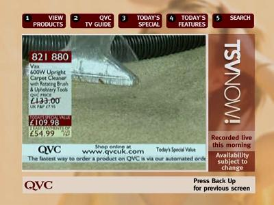 Fréquence QVC TSVNOW tv تردد قناة