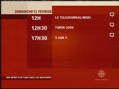 Fréquence Radio Canada tv تردد قناة
