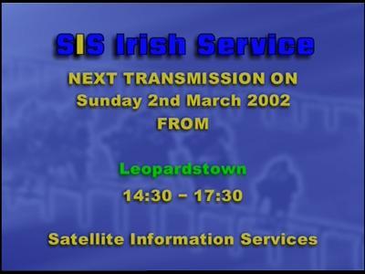 Fréquence SIS Irish Racing sur le satellite Autres Satellites