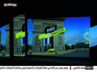 Fréquence Sky News Arabia tv تردد قناة