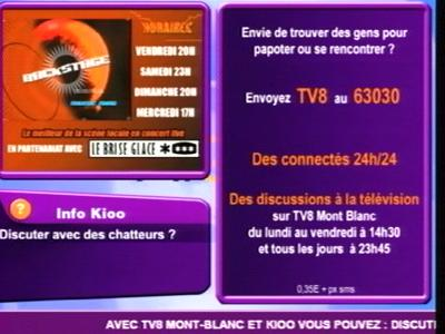 Fréquence TV8 Mont Blanc tv تردد قناة