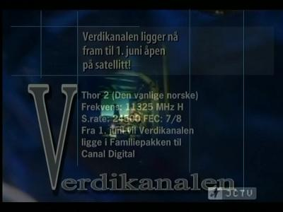Fréquence Verbovivo TV tv تردد قناة
